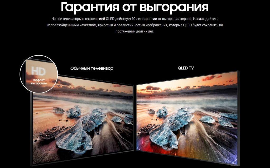 Samsung Q950 8K QLED гарантия
