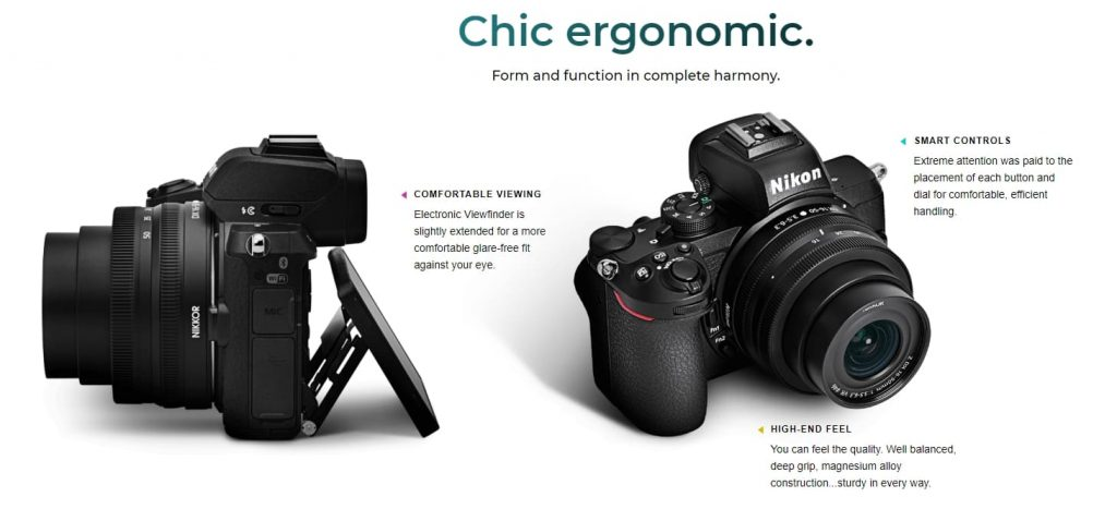 Nikon Z 50 функции